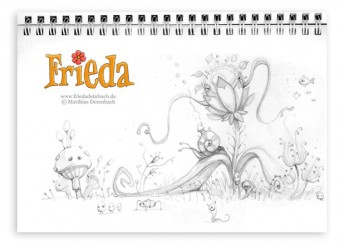 Matthias Derenbach #Illustration - Frieda/Sketch