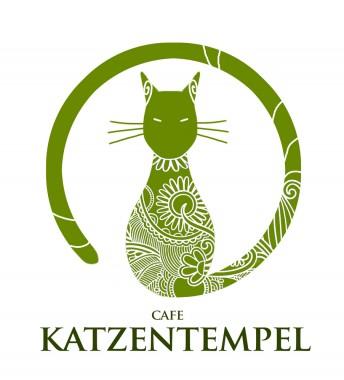Matthias Derenbach #Illustration - Logoentwurf Katzentempel (www.cafe-katzentempel.de)