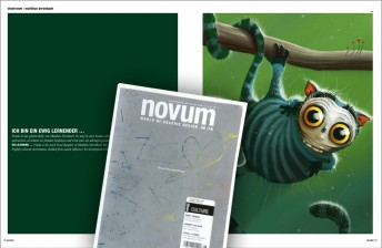 Matthias Derenbach #Illustration - Novum Showroom 2012