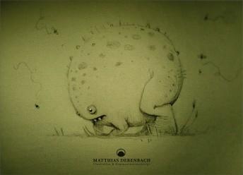 Matthias Derenbach #Illustration - fart toad