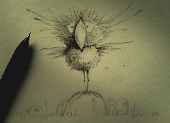 Matthias Derenbach #Illustration - angry bird