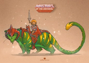 Matthias-Derenbach-MastersOfTheUnsiverse-FanartProjekt-Battlecat