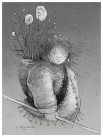 Matthias Derenbach #Illustration - Sketch/Indigo