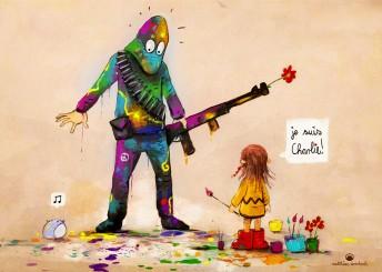 Matthias Derenbach #Illustration  - je suis charlie/sketch