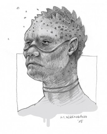 Matthias Derenbach #Illustration - Sketch/Head