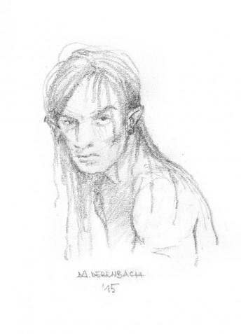 Matthias Derenbach #Illustration  - Tarzan/sketch