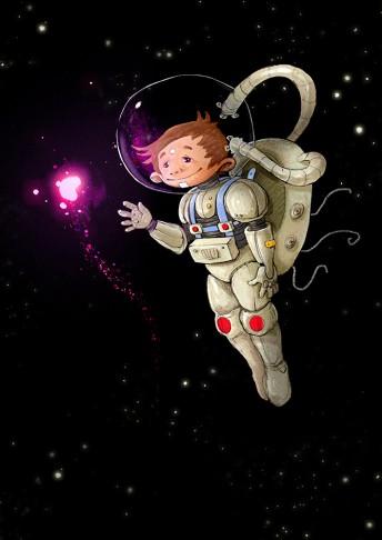 Matthias Derenbach #Illustration - astroboy