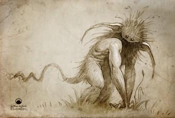 Matthias Derenbach #Illustration - the rottentroll/sketch